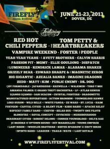 2013-Lineup